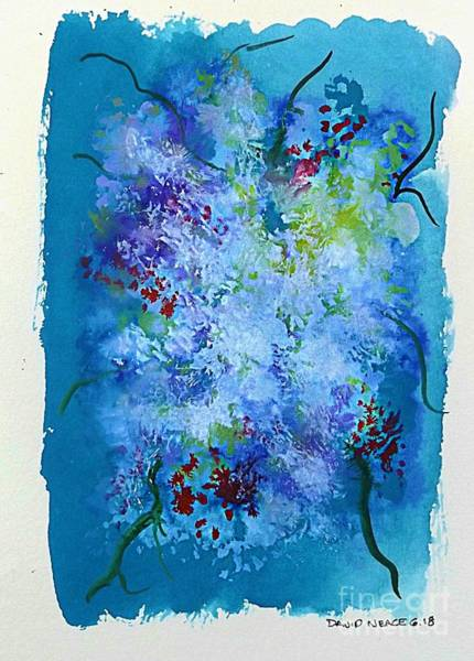 Painting - Floral 16 by David Neace