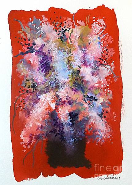 Painting - Floral 17 by David Neace