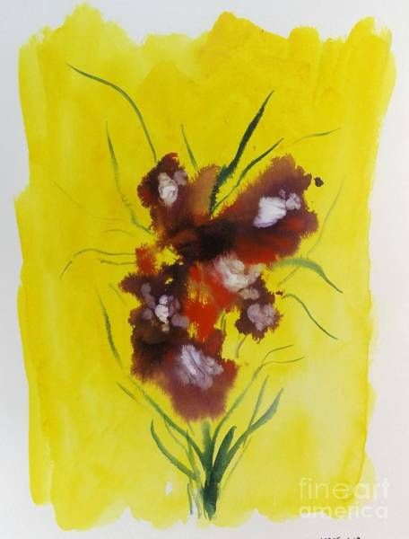 Mixed Media - Floral 4 by David Neace