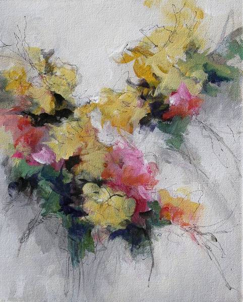 Wall Art - Painting - Floral 5 by Karen Hale
