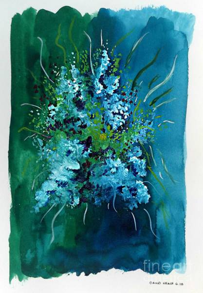 Mixed Media - Floral 6 by David Neace