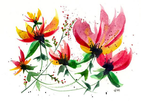 Floral 6 Art Print