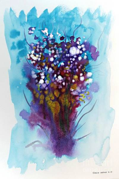 Mixed Media - Floral 7 by David Neace