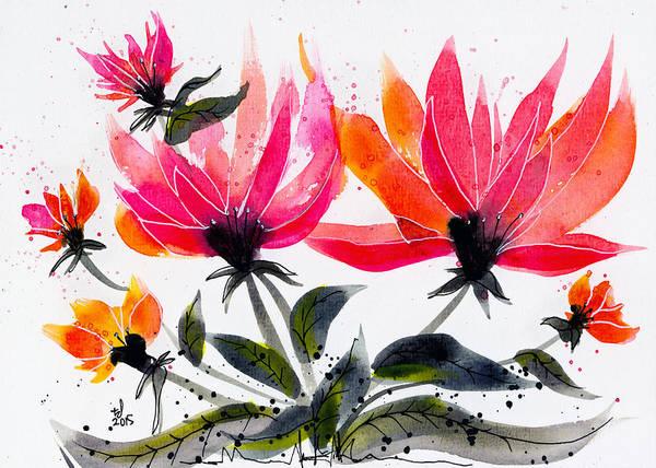Floral 8 Art Print