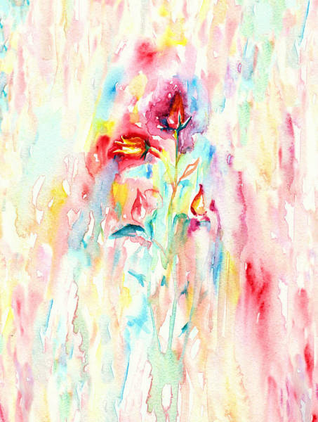 Painting - Floral Abstract by Elizabeth Lock