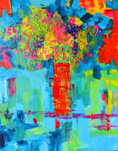 Painting - Floral Abstract Expressions by Patricia Awapara