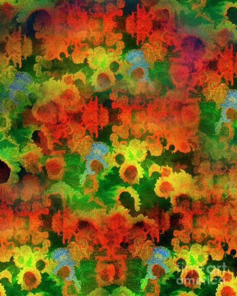 Digital Art - Floral Abundance by Edmund Nagele
