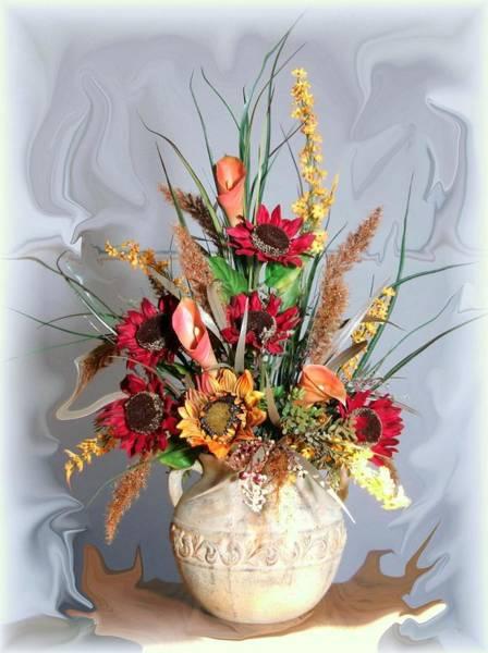 Wall Art - Photograph - Floral Arrangement by Jim  Darnall