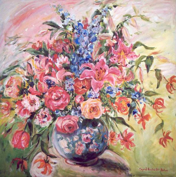Floral Arrangement No. 2 Art Print