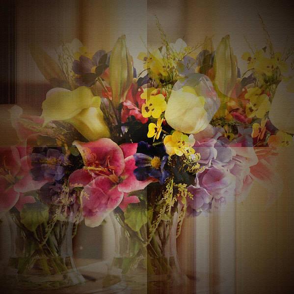 Photograph - Floral Arrangement by Robert G Kernodle