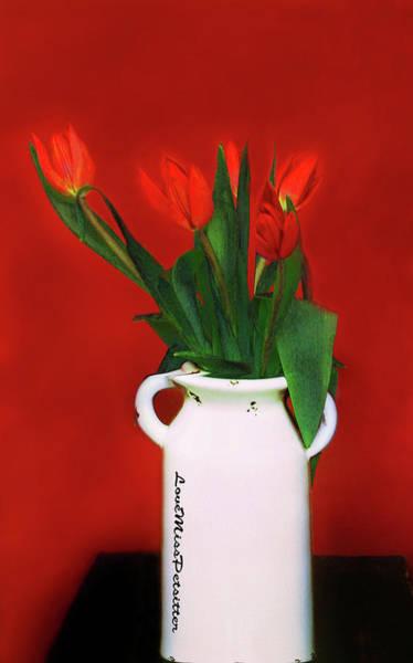 Digital Art - Floral Art 13 by Miss Pet Sitter