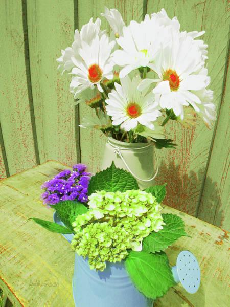 Digital Art - Floral Art 330 by Miss Pet Sitter