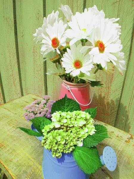 Digital Art - Floral Art 332 by Miss Pet Sitter