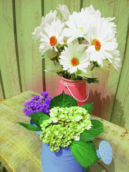 Digital Art - Floral Art 333 by Miss Pet Sitter