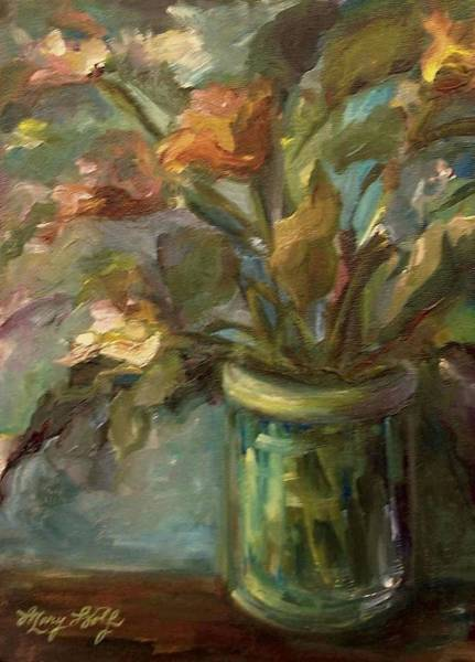 Painting - Floral Bouquet by Mary Wolf