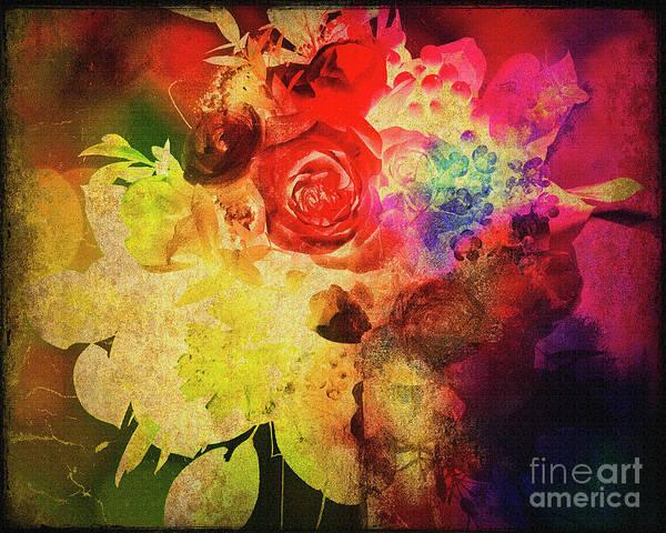 Digital Art - Floral Dance by Edmund Nagele