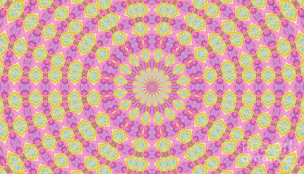 Digital Art - Floral Design by Elizabeth Lock
