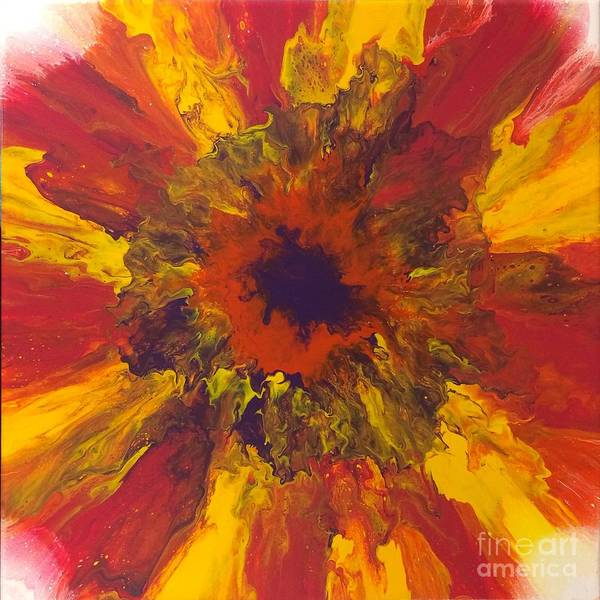 Painting - Floral Fanfare by Lon Chaffin
