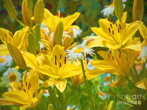 Digital Art - Floral Fiesta 2015 by Kathryn Strick