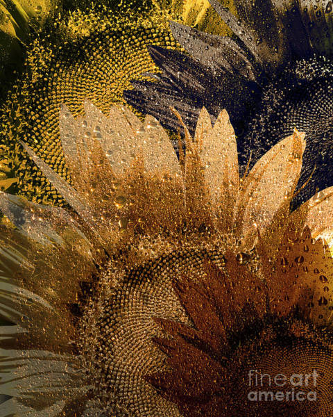 Photograph - Floral Gold by Edmund Nagele