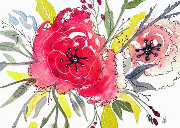 Floral IIi Art Print