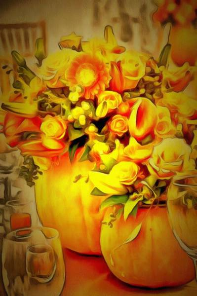 Digital Art - Floral In Ambiance by Catherine Lott