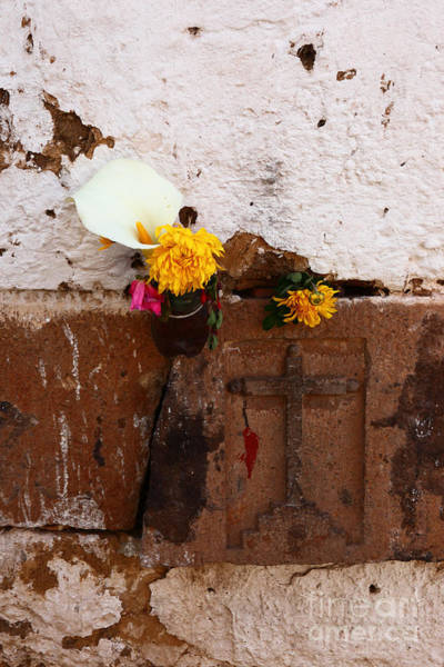 Photograph - Floral Offerings by James Brunker