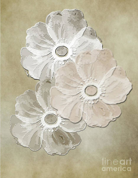 Digital Art - Floral Pattern by Judy Hall-Folde
