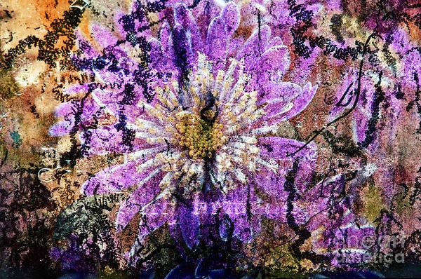 Digital Art - Floral Poetry Of Time by Silva Wischeropp