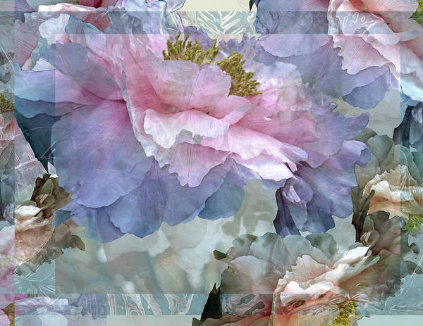 Photograph - Floral Potpourri With Peonies 24 by Lynda Lehmann