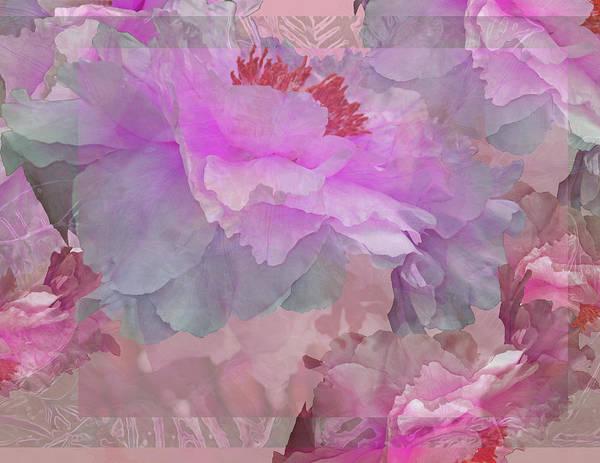 Photograph - Floral Potpourri With Peonies 6 by Lynda Lehmann