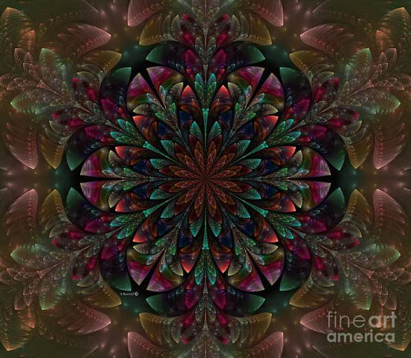 Julian Digital Art - Floral Resplendent by Shari Nees