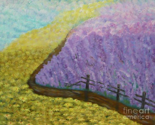Painting - Floral Rhapsody by Monika Shepherdson
