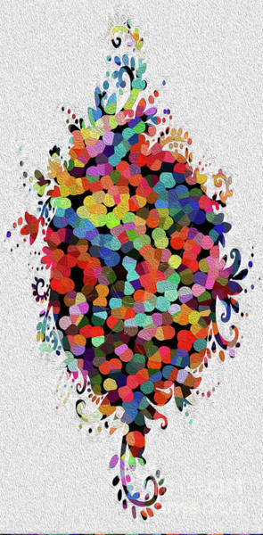 Wall Art - Digital Art - Floral Splash by Genevieve Esson