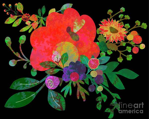 Digital Art - Floral Tales #01 by Edmund Nagele