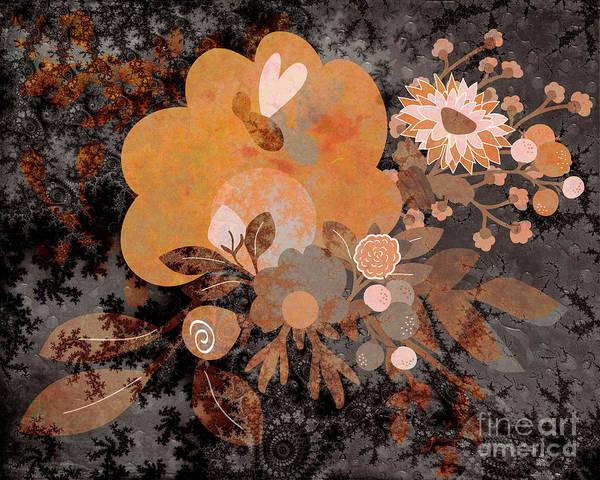 Digital Art - Floral Tales #05 by Edmund Nagele