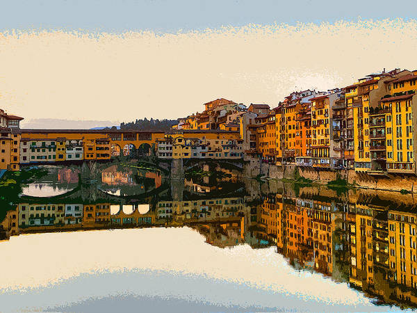 Painting - Florence - 12 by Andrea Mazzocchetti