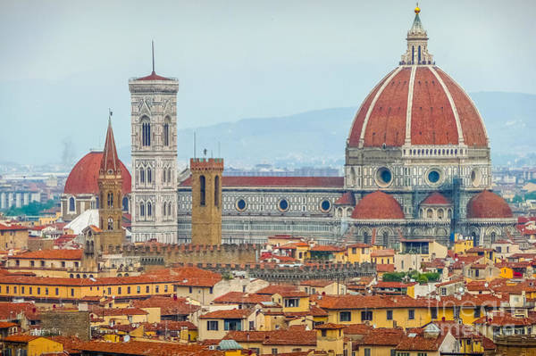 Duomo Di Firenze Wall Art - Photograph - Florence And The Roofs by JR Photography