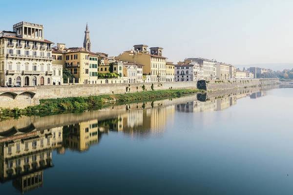 Photograph - Florence Architecture Reflection by Alexandre Rotenberg