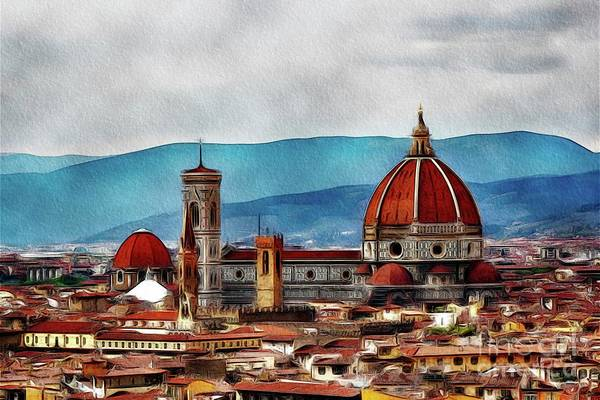 Florence Painting - Florence, Italy by John Springfield