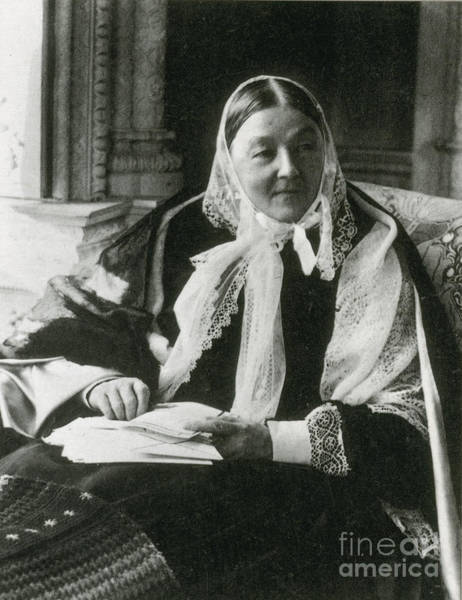 Notable Photograph - Florence Nightingale, English Nurse by Science Source
