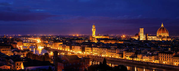 Wall Art - Photograph - Florence Panorama by Andrew Soundarajan