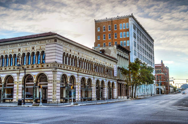 Photograph - Florentine Building In Birmingham Alabama by Michael Thomas