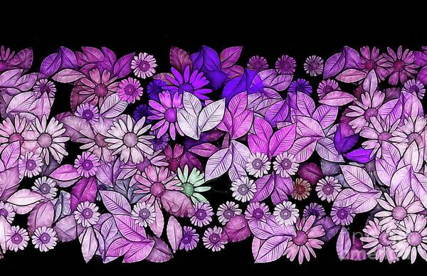 Wall Art - Digital Art - Floria - V5c3 by Variance Collections