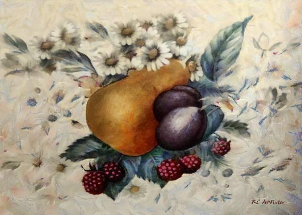 Painting - Floribundance by RC DeWinter