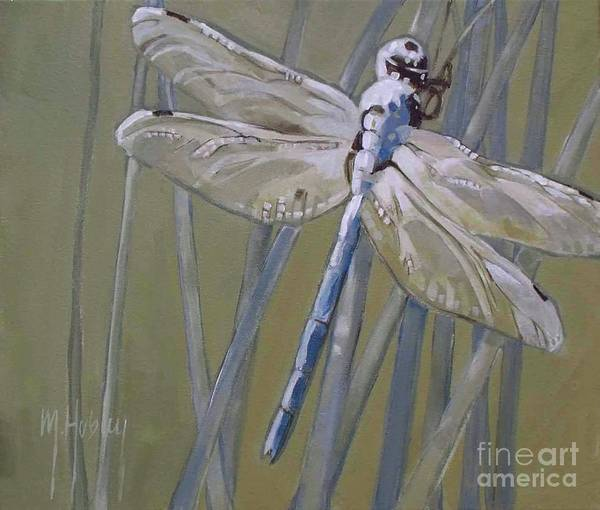 Dragon Fly Painting - Florida Dragonfly by Mary Hubley