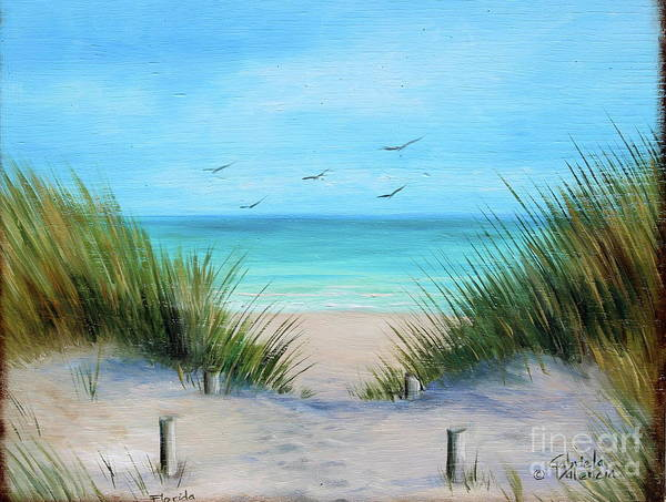 Wall Art - Painting - Florida by Gabriela Valencia