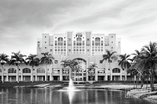 Photograph - Florida International University Green Library by University Icons