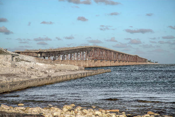 Wall Art - Photograph - Florida Keys Bahia Honda Railway Bridge by Betsy Knapp