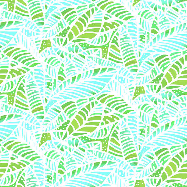 Digital Art - Florida Keys Leaves by Karen Dyson